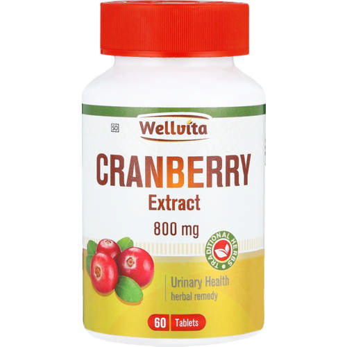 800mg Cranberry Tablets 60 Tablets
