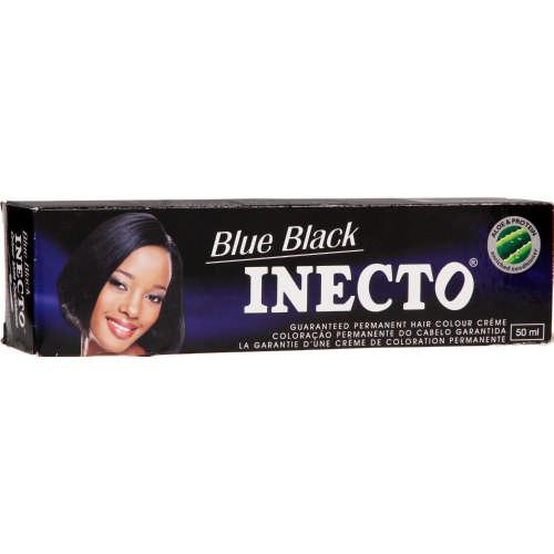 Inecto Plus Permanent Hair Colour Creme Blue Black 50ml Clicks