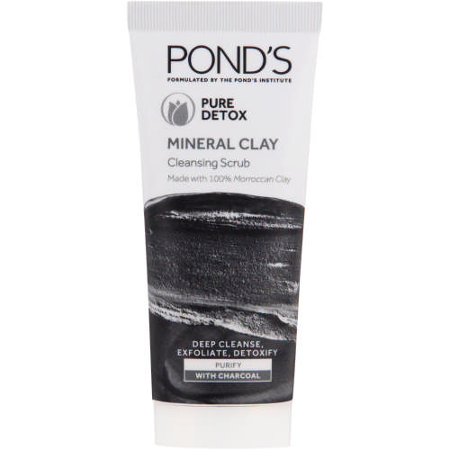Pure Detox Mineral Clay Cleansing Scrub