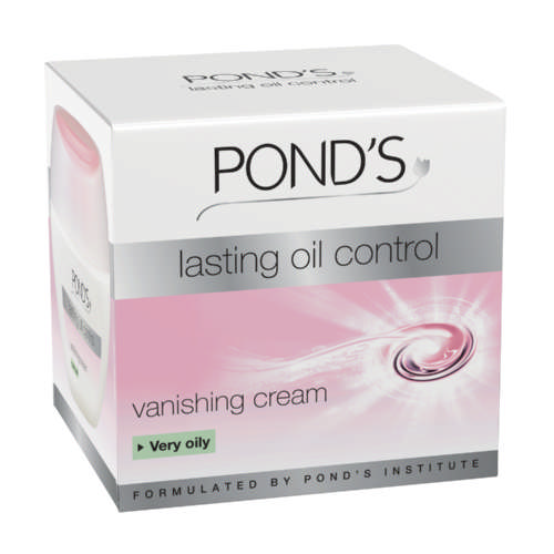 Pond 39 s lasting oil control vanishing cream very oily 50ml for Ponds products