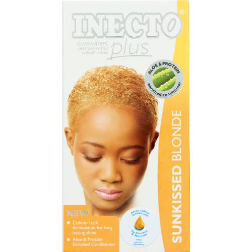 Inecto Plus Permanent Hair Colour Creme Sunkissed Blonde