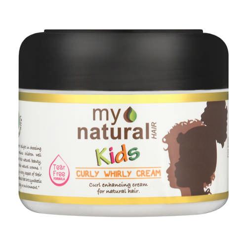 My Natural Hair Kids Curly Whirly Cream 250 Ml Clicks
