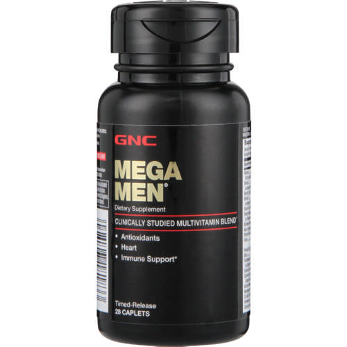 Mega Men Multivitamin Capsules 28 Capsules