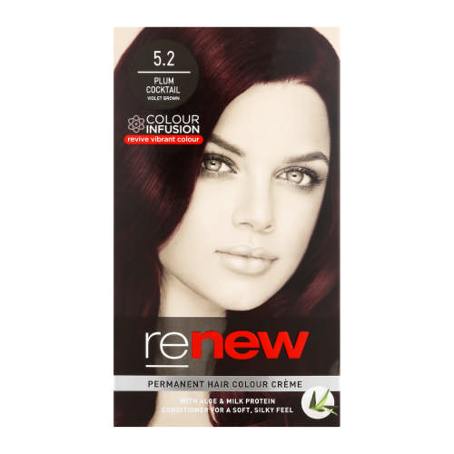 Colour Infusion Permanent Hair Colour Creme Plum Cocktail