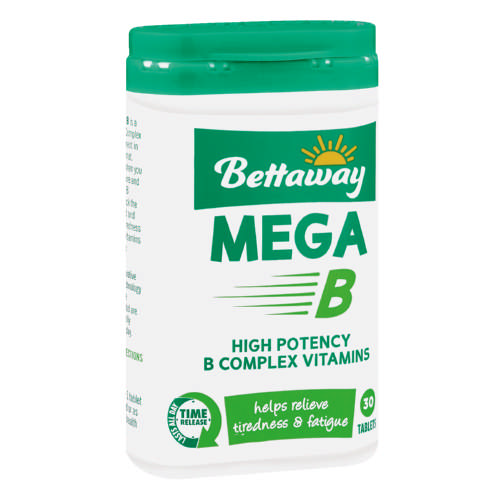 Mega B Supplement 30 Tablets
