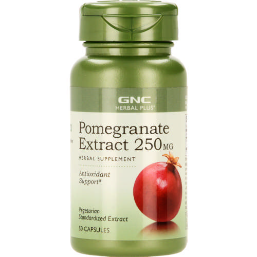 Herbal Plus Standardized Pomegranate 250mg 50 Capsules