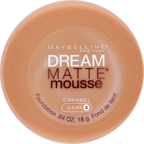Dream Matte Mousse Foundation Caramel Dark 18g