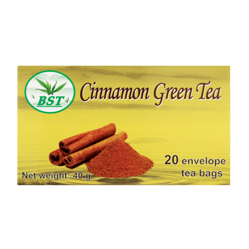 Green Tea Cinnamon 20 Teabags