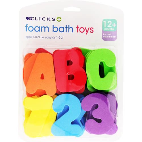 Clicks Foam Bath Toys - Clicks a7393b3c2