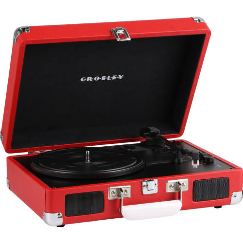Cruiser Deluxe Turntable Red