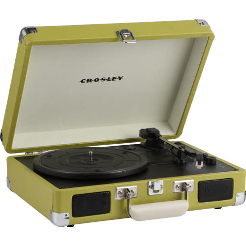 Cruiser Deluxe Turntable Green