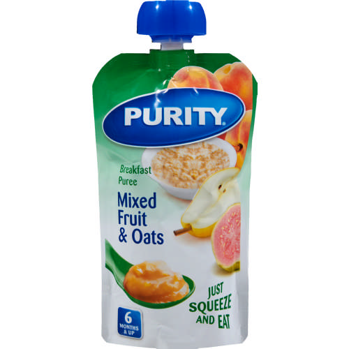 Breakfast Puree Mix Fruit & Oats 110ml