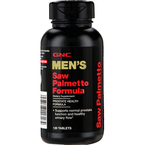 Mens Saw Palmetto Formula 500mg 120 Tablets