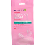 Intimate Everyday Wipes 12 Wipes