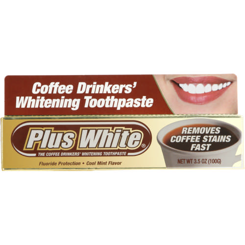 Plus White Coffee Drinkers Whitening Toothpaste Cool Mint 100ml