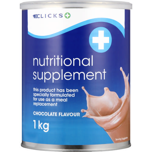 Nutritional Supplement Chocolate 1kg