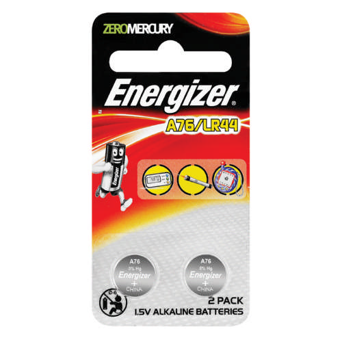 Zero Mercury A76 Batteries 2 Pack