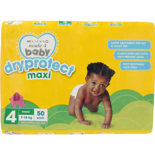 Maxi Disposable Nappies 50 Pack