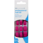 Professional Nail Kit Pretty In Pink 24 Nails