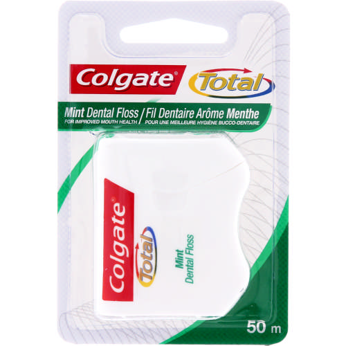 Total Dental Floss Mint 50m