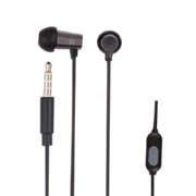 Luxe Air With Mic In Ear Headphones Black