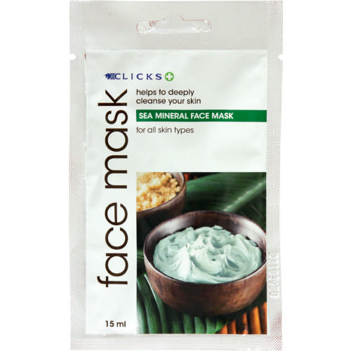 Sea Mineral Face Mask All Skin Types 15ml