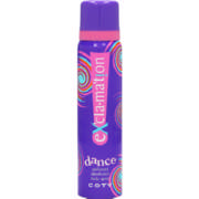Exclamation Perfumed Deodorant Body Spray Dance 90ml