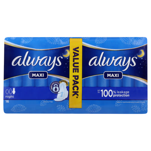 Stayfree Maxi-Thick Unscented 10 Winged Pads - Clicks