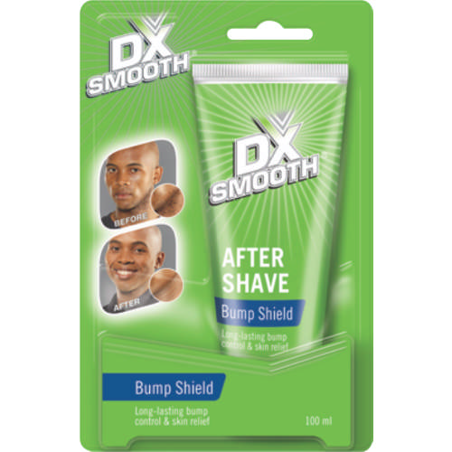 dx smooth bump shield after shave 100ml clicks