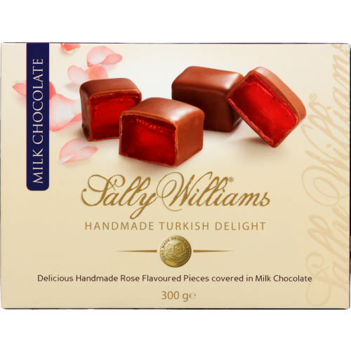 Handmade Turkish Delight Milk Chocolate 300g