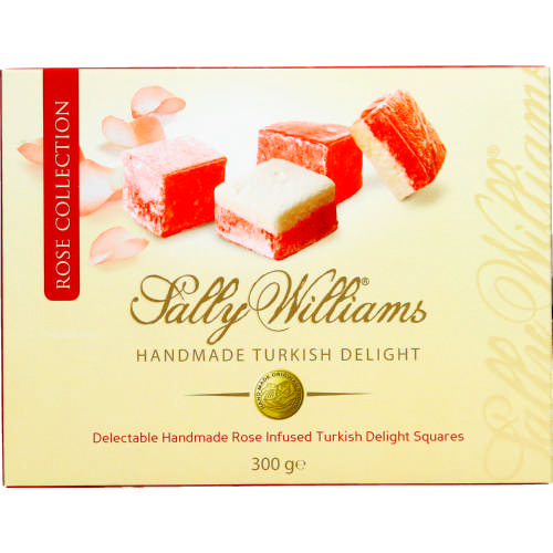 Handmade Turkish Delight Rose Collection 300g