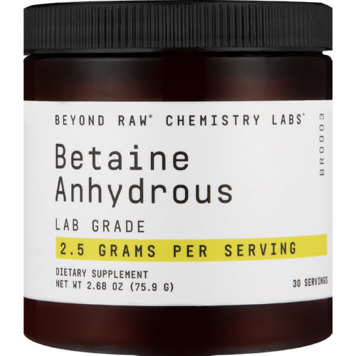 Beyond Raw Chemistry Labs Betaine Anhydrous 75.9g