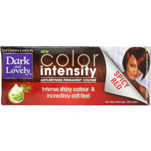 Colour Intensity Anti-Dryness Permanent Colour Spicy Red
