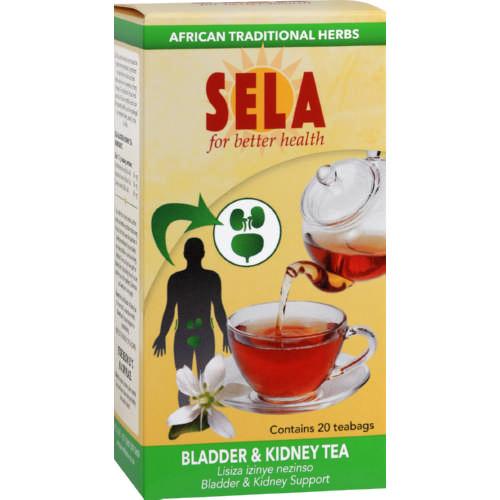 Sela Bladder Kidney Tea 20 Teabags Clicks