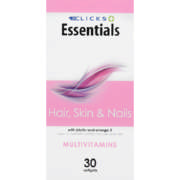 Healthbasics Hair, Skin And Nails 30 Softgels