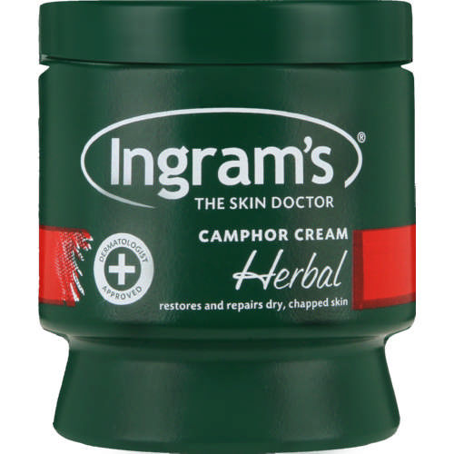 Body Cream Camphor Herbal 500g