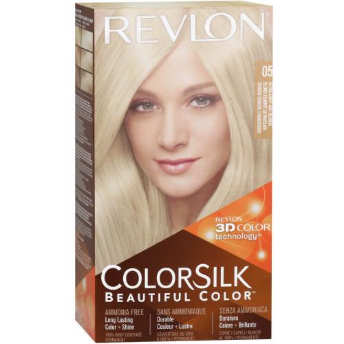 Revlon Colorsilk Permanent Hair Color Light Ash Blonde 80