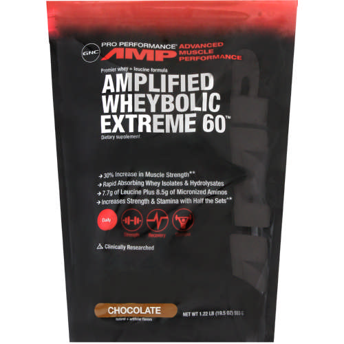 Pro Performance AMP Amplified Wheybolic Extreme 60 Chocolate