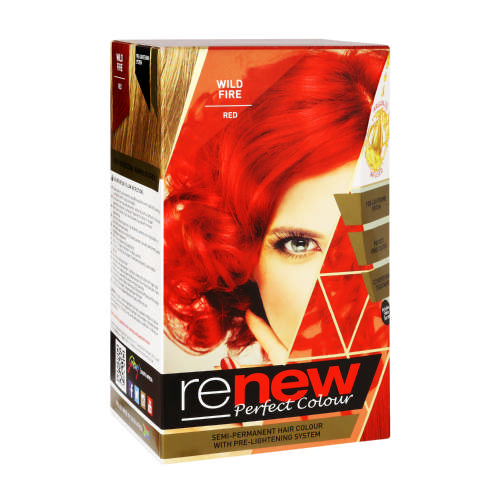 Renew Perfect Colour Blazing Sunset Wild Fire Red - Clicks