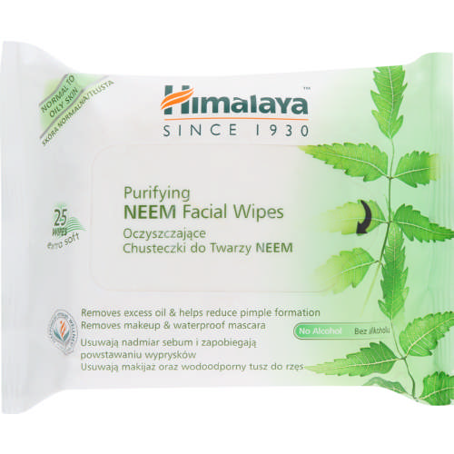 Purifying Neem Face Wipes 25 Wipes