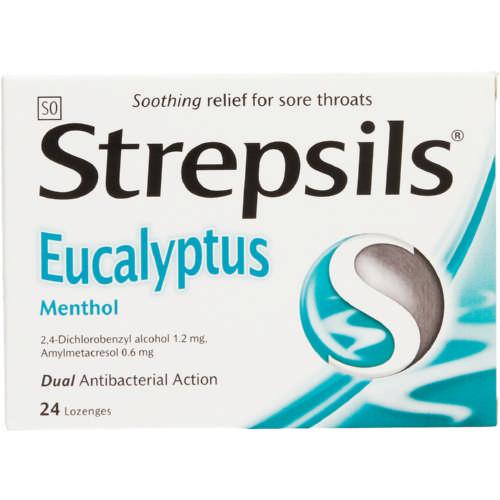 Cepacol Throat Lozenges Menthol 24 Lozenges - Clicks