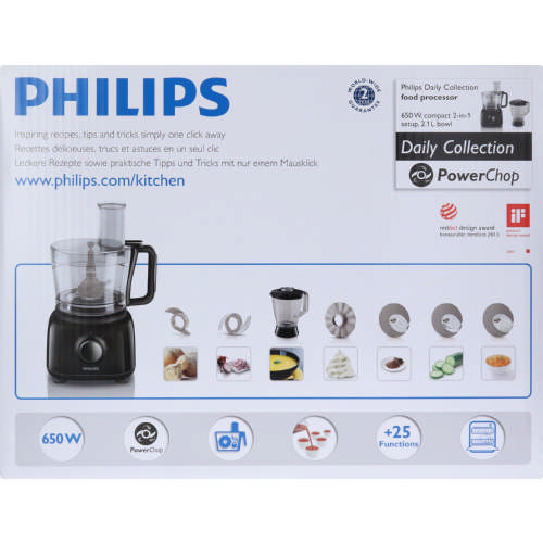 Philips Daily Collections Food Processor Clicks
