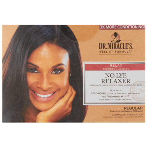 No Lye Relaxer Kit Regular