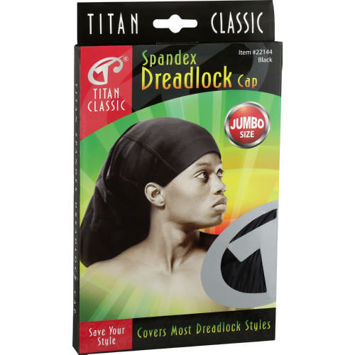 Donna Titan Spandex Dreadlock cap Black - Clicks 0935b6929dd