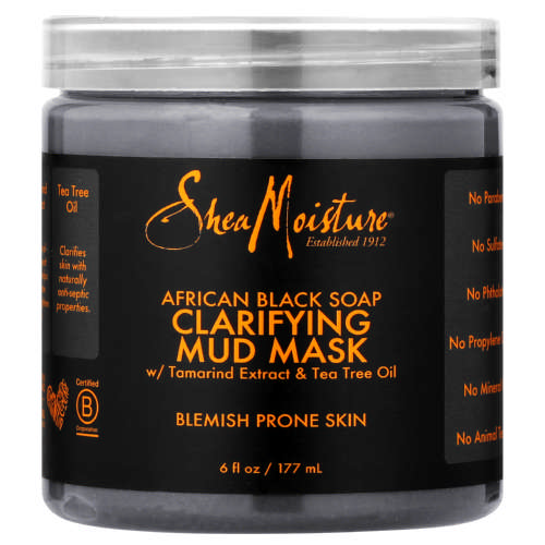 Shea Moisture African Black Soap Clarifying Mud Mask