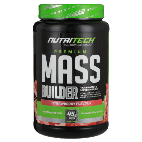 Mass Builder Strawberry 1.5kg
