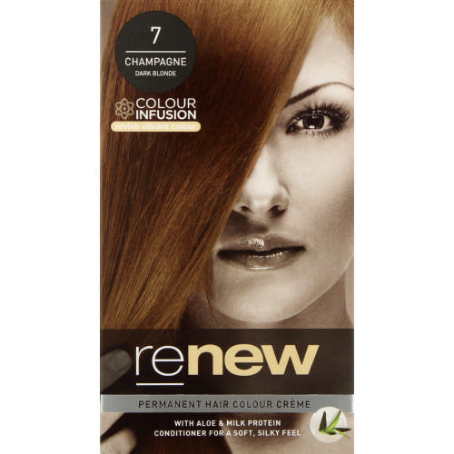 Colour Infusion Permanent Hair Colour Creme Champagne Dark Blond 7