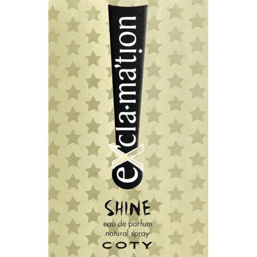 Exclamation Shine Eau De Parfum Natural Spray 50ml