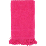 Fringed Guest Towel Set Cerise 2 Piece