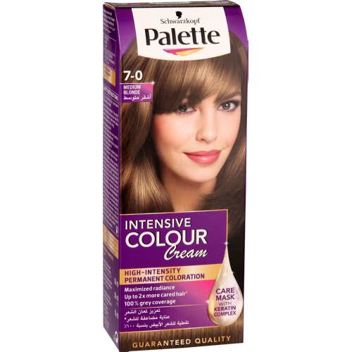 Shwarzkopf Palette Intensive Color Creme Medium Blonde 7 0 Clicks